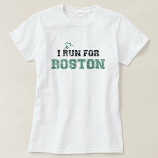 ICH LAUFE FÜR BOSTON-Shirt (beunruhigt) T-Shirt