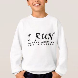 Ich laufe sweatshirt