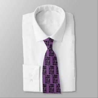 Ich laufe, weil Topf noch illegal ist Krawatte