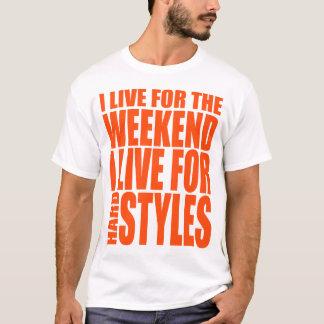 Ich lebe für das Wochenende (Showtek) T-Shirt