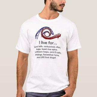 """""""Ich lebe für"""" T - Shirt"""