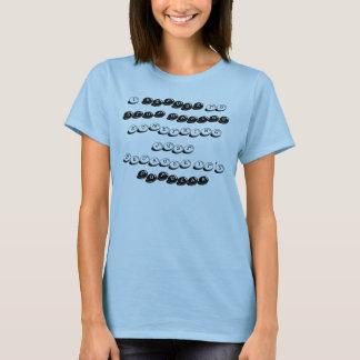ich LEHNE ab etwas, ZU HASSEN ZU STOPPEN gerade T-Shirt