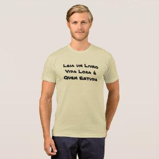 Ich leia ein Buch Leben Loka ist Was studieren T-Shirt