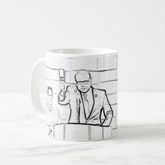 """""""Ich leihe Sie froh meine Kopie """" Kaffeetasse"""