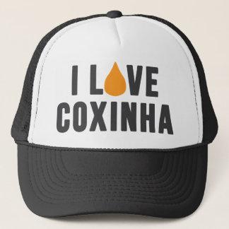 """""""Ich Liebe Coxinha"""" T - Shirt Truckerkappe"""