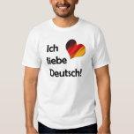 Ich liebe Deutsch T-Shirts