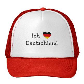 Ich liebe Deutschland Baseball Kappen