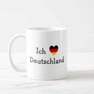 Ich liebe Deutschland mug