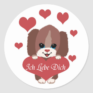 Ich Liebe Dich Stickers