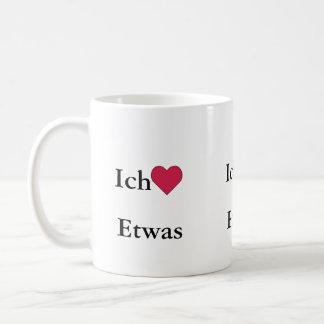 Ich Liebe (Etwas) Tasse