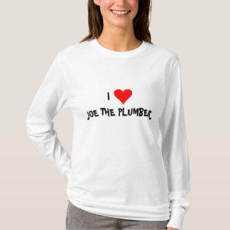 """""""Ich Liebe Joe der Klempner """" T-Shirt"""