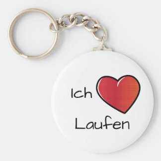 Ich liebe Laufen - i-Liebe-Laufen Schlüsselanhänger
