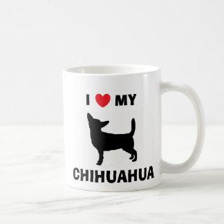 """""""Ich Liebe mein Chihuahua-"""" Tasse"""