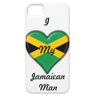 """""""Ich Liebe mein jamaikanischer Mann-"""" Etui Fürs iPhone 5"""