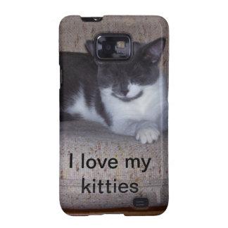 """Ich Liebe mein Kätzchen"" rufe Fall an Samsung Galaxy SII Case"