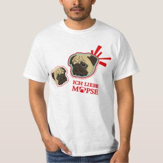 ich liebe möpse T-Shirt