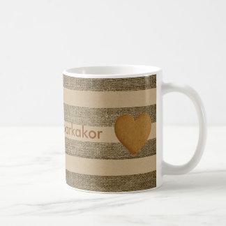 """""""Ich Liebe pepparkakor"""" - Lebkuchen, Kaffeetasse"""