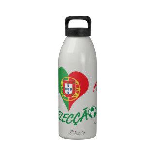 ich liebe Portugal Wiederverwendbare Wasserflaschen
