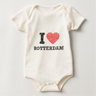 Ich-Liebe-Rotterdam Baby Strampler
