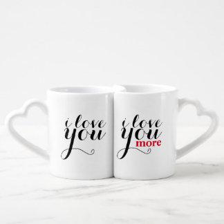 """""""Ich Liebe Sie. Liebe I Sie mehr."""" Riesige Tasse"""