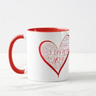 """""""Ich Liebe Sie """" Tasse"""