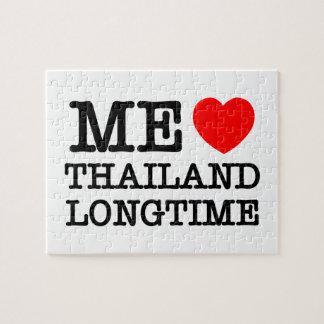 ICH LIEBE THAILAND LANGFRISTIG PUZZLE