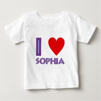 Ich liebe Weisheit Philosophie I love sophia Baby T-shirt