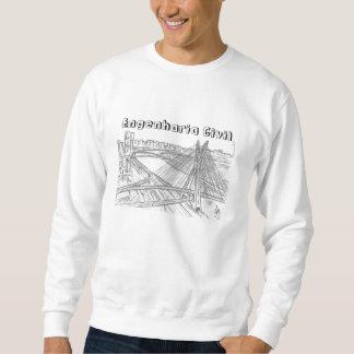 Ich liebenswürdig empfange Bauingenieurwesen Sweatshirt