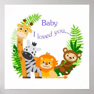 Ich liebte Sie Poster