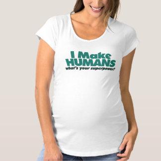 Ich mache Menschen (Schwangerschafts-Spaß) Umstands-T-Shirt