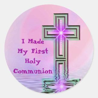 Ich machte meine ersten heilige Kommunions-Aufkleb