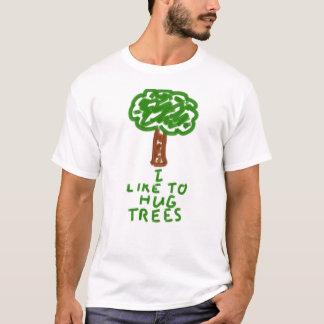Ich mag Bäume umarmen T-Shirt