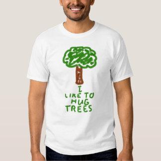 Ich mag Bäume umarmen T-Shirts