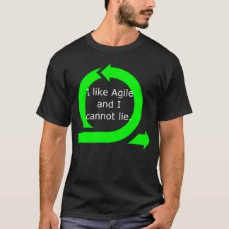 Ich mag beweglich und ich kann nicht liegen T-Shirt