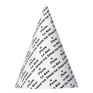 Ich mag den Rochen auf Bild - Wortspiele Partyhütchen