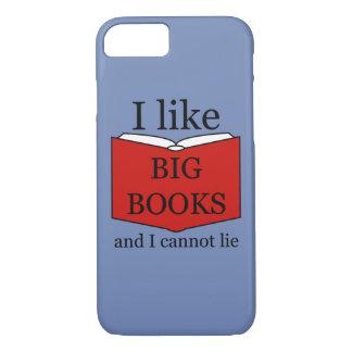 Ich mag große Bücher iPhone 8/7 Hülle