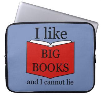 Ich mag große Bücher Laptop Sleeve