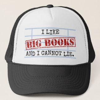 Ich mag große Bücher und ich kann nicht liegen Truckerkappe