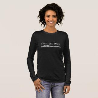 Ich mag große Dolche Langarm T-Shirt