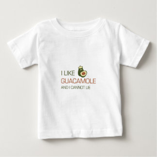 Ich mag Guacamolen und ich kann nicht liegen Baby T-shirt