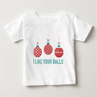 Ich mag Ihre Bälle Baby T-shirt