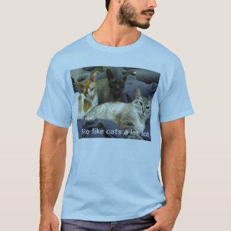 Ich mag Katzen T-Shirt