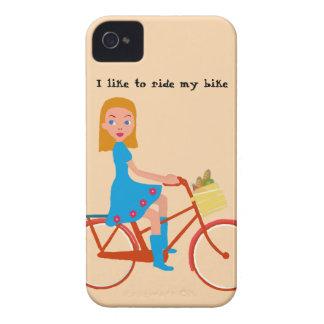 Ich mag mein Fahrrad reiten iPhone 4 Hüllen