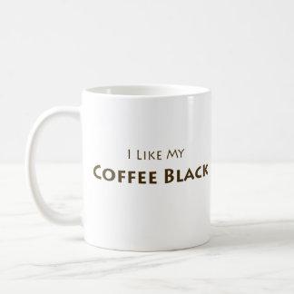 Ich mag mein Kaffee-Schwarzes Kaffeetasse