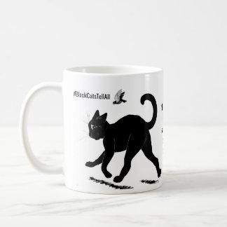 Ich mag meine Katzen und mein Kaffee-Schwarzes Kaffeetasse