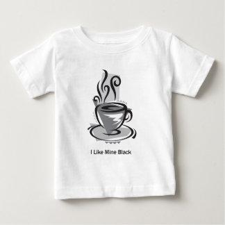 Ich mag meine schwarz baby t-shirt