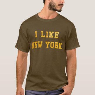 Ich mag New York Lo-FI T-Stück T-Shirt