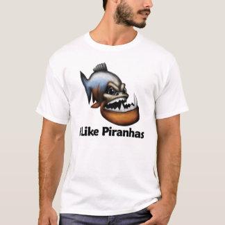 Ich mag Piranhas T-Shirt