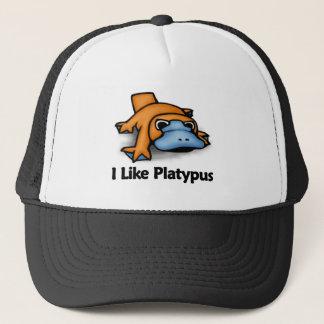 Ich mag Platypus Truckerkappe