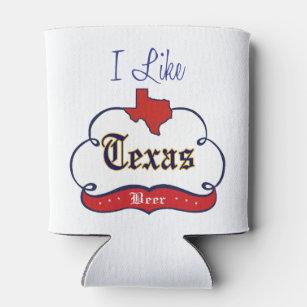 Ich mag Texas-Bier Dosenkühler